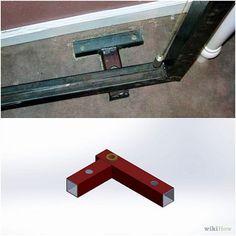 Obraz zatytułowany Budowa ukryte drzwi Regał Krok 3Bullet2