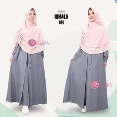 Gamis Zizara Himala Dress 014 - baju muslim wanita baju muslimah Kini hadir untukmu yang cantik syari dan trendy . . DETAIL DRESS: 1. Bahan katun supernova 2. Cutting pinggang 3. Tanpa karet 4. Saku kanan dan kiri 5. Rok model lipit 1 ditengah dengan aksen tali yang diikat ke depan 6. Lengan manset 7. Lebar rok kurang lebih 2 m . . Size Chart (S) LD 98 PB 135 (M) LD 100 PB 137 (L) LD 104 PB 140 (XL) LD 110 PB 142 . . Harga Rp 175.000 (gamis saja) . . www.facebook.com/gamiszizara…