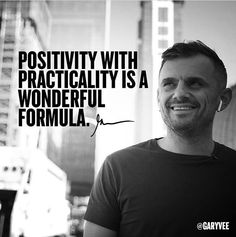 Positivity with practicality is a wonderful formula. Check out humblehunger.com #Motivation #Inspiration #Success #Quotes #selfimprovement