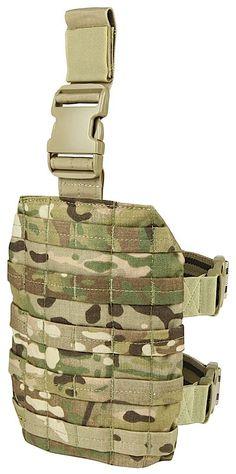 MOLLE Drop Leg Rig - Multicam Tactical Equipment, Survival Equipment, Tactical Gear, Molle Backpack, Molle Pouches, Sniper Gear, Condor Tactical, Battle Belt, Backpacks