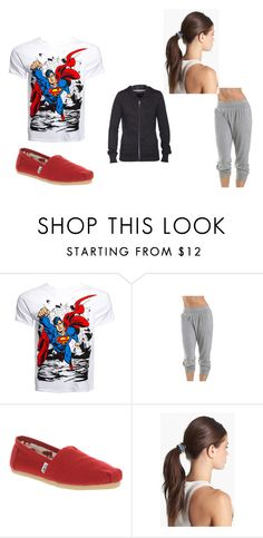 """""""Nameless"""" by ashlee-hughes ❤ liked on Polyvore featuring TOMS, Tasha and Hurley"""