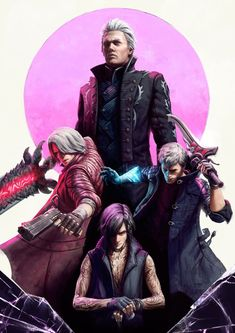 Nero Dmc, Vergil Dmc, Character Art, Character Design, Dante Devil May Cry, Hack And Slash, Video Game Art, Rwby, Tokyo Ghoul
