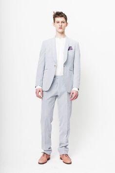 Adam Merks is Picture Perfect in Herr von Eden Fall/Winter 2012