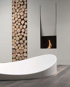 @Antonio Covelo Covelo Covelo Covelo lupi IL CANTO DEL FUOCO® - Design Domenico De Palo #fireplace #minimal