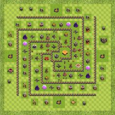 War Base Town Hall Level 10 By andrewb0x29a (new TH 10 Layout)