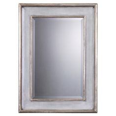 You should see this Ogden Beveled Mirror in Hand Rubbed Sky Blue on Daily Sales!