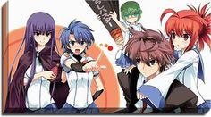 Demon King Daimao Anime Canvas