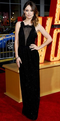 "Olivia Wilde in Gucci (2013 L.A. premiere of ""The Incredible Burt Wonderstone"")"