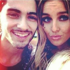 Zayn Malik and Perrie Edwards. i want Zayn's smiling face back! One Direction Girlfriends, Members Of One Direction, The Girlfriends, I Love One Direction, Zayn Perrie, Zayn Malik, Perrie Edwards, Little Mix, Liam Payne