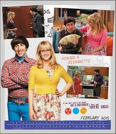 Howard Joel Wolowitz M.Eng. (Simon Helberg) & Bernadette Rostenkowski-Wolowitz, PhD (Melissa Rauch) - The Big Bang Theory (2007-Present)