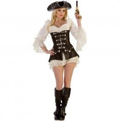 Pirat Kostume - 448kr