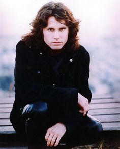 Jim Morrison photographed by Michael Ochs.