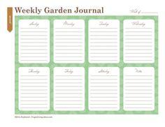 Planting a Garden? Print This Free Garden Planner
