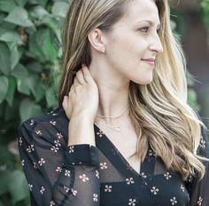 Apart from our finely curated collection of refined, casual and timeless jewelry, our approach is different. Apostle is unique, inclusive, and uncomplicated. Spring Fashion, Autumn Fashion, Lariat Necklace, Earrings, Mom Style, Spring Style, Statement Jewelry, Spring Outfits, Gifts For Mom