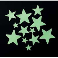 Flow in the dark stars! Had these on my ceiling until I was about 18 LOL & still kind of miss them!!