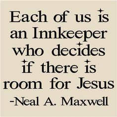 Each of us is an Innkeeper...