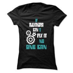 ALEXANDRIA Mechanic - 999 Cool Name Shirt ! T Shirts, Hoodies. Check price ==► https://www.sunfrog.com/Outdoor/ALEXANDRIA-Mechanic--999-Cool-Name-Shirt-.html?41382