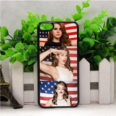 LANA DEL REY AND AMERICAN FLAG IPOD TOUCH 6