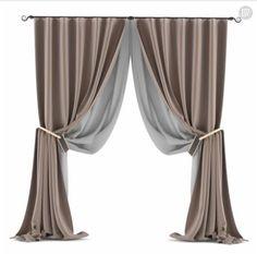 Living Room Decor Curtains, Curtain Designs, Curtain Fabric, Sofa Furniture, Window Curtains, E Design, Drapery, Window Treatments, Living Room Designs