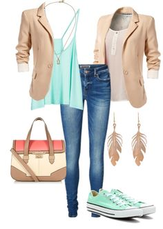 Love this smart casual outfit #wanting