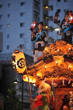 東京、八王子祭り/Hachioji Matsuri FestivalFloat