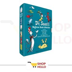 Dr. Seuss's Beginner #Book Collection (Cat in the Hat, One Fish Two Fish, Green Eggs, Hop on Pop, Fox in Socks) http://shophello.net/product/dr-seusss-beginner-book-collection/ . . #childrensbooks #memfox #buymembooks #customcookies #1stbirthday #ameetabakes #childrensbooks #animalosophy #kidsbooks #ebooks #philosophy #IAN #kidlit #kindle #deepthoughts #smartbooksforkids #smartkids #quasikidsbooks #kids #children #fun #mustread #share #books #childrensbooks #amazon #read #books #authors…