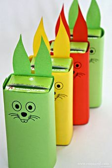Tutorial - Easter Bunny Juice Box Holder