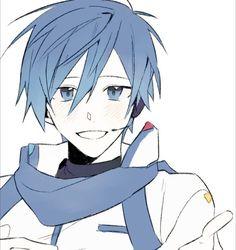 Creds @_Doro_V Twitter | KAITO Kaito Shion, Vocaloid Kaito, Kaai Yuki, Iroha, Cool Art, Kawaii, Animation, Sprites, Manga