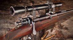 Walter Bell's Rigby is one of the best known rifles in the world. Weapons Guns, Airsoft Guns, Guns And Ammo, Rigby Rifle, Scout Rifle, Rifle Stock, Firearms, Shotguns, Bolt Action Rifle