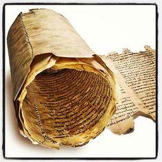 Dead Sea Scrolls ...saw the exhibit a few years ago...beautiful