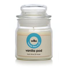 Wilko Candle Jar Parchment 3oz at wilko.com