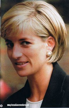 lady diana hairstyles | Princess diana hairstyles short hair