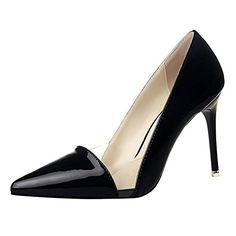 No66 Town Womens Stiletto High Heel Pointedtoe Dress Sandal Pump Size 6 Black *** Be sure to check out this awesome product.-It is an affiliate link to Amazon. #WeddingShoes
