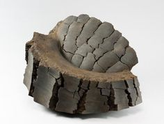 Untitled MV-1015 2010 Stoneware with iron-filings 16 1/7 x 27 1/4 x 19 3/4 inches Inv# 6880 SOLD Image