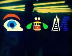 A unique San Francisco inspired IBM logo