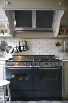 The kitchen of Francoise and Henri Quinta in France)