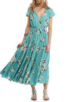 Free People All I Got Printed Maxi Dress