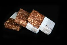 5 Second Rule - Chocolate Date Energy Bars #bars #chocolate #date #recipe
