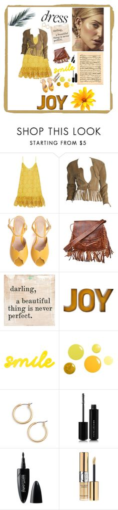 """sunshine on my shoulders"" by omegafphie2121 ❤ liked on Polyvore featuring Alexis, Jitrois, SPECIAL DAY, Laggo, Nordstrom, Marc Jacobs, Maybelline and Yves Saint Laurent"