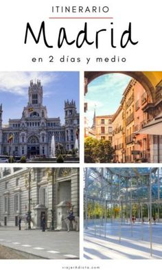 Itinerario Madrid 2 dias y medio Budapest, Eurotrip, Spain Travel, World Traveler, Big Ben, Taj Mahal, Barcelona, Louvre, Africa