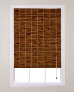 Natural woven shade from Smith + Noble in Lhasa/Sand for windows in bedroom and closet.