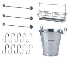 Keep Tools at Arm's Reach in the Garage or Laundry Room with an Industrial Rail Storage Solution