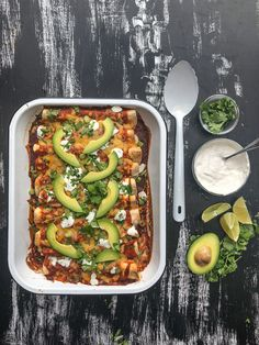 A new recipe for the weeknight dinner rotation! Chicken Enchiladas with Cumin Crema from @WhatsGabyCookin !! http://www.shutterbean.com/2018/chicken-enchiladas-with-cumin-crema/