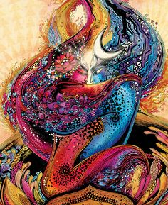 In search of life Divine ~ Shiva & Shakti ~ divine love on Behance