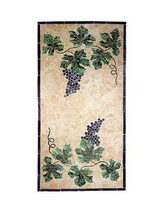 Wine Cellar Innovations Grape Cluster Mosaic Floor TTM5