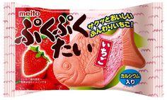 名糖産業 ぷくぷくたいいちご 1個入り×10個