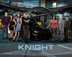 The #KnightRider Reboot TV Series from the 2008-2009 Season! I liked this show. Always thought it should've gotten a second season! Ah well, still cool to watch it now all these years later!