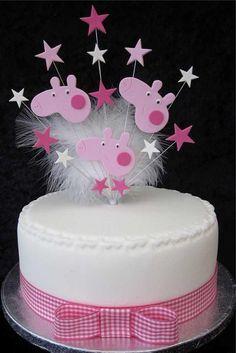 Peppa Pig Cake Topper