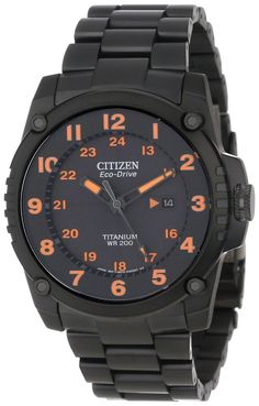Citizen Men's BJ8075-58F Eco-Drive STX43 Shock-Proof Titanium Watch