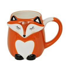 Colorful Fox Mug   Kirklands
